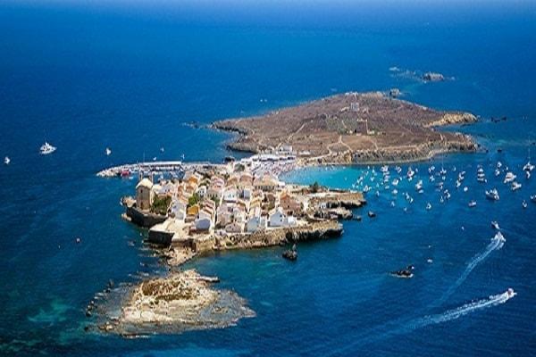 Island of Tabarca in Alicante