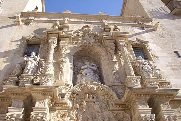 St Mary Church in Alicante