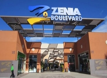 Zenia Boulevard in Alicante